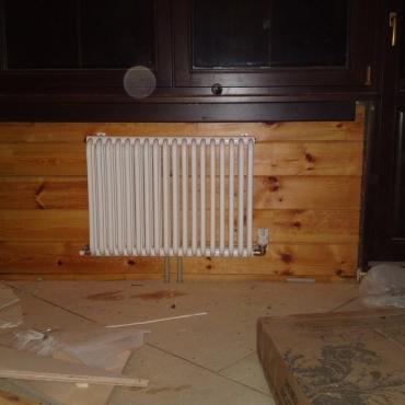Монтаж стальных радиаторов в доме