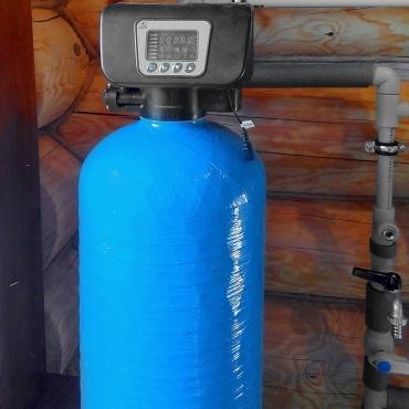 Установка обезжелезивания и умягчения воды для частного дома