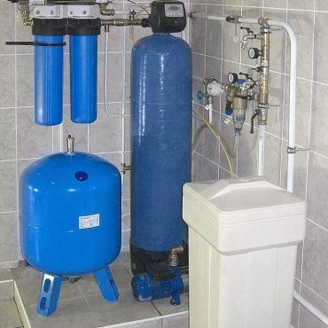 Система умягчения воды для коттеджа под ключ