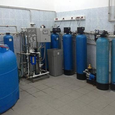 Фильтрация воды в гостиничном комплексе