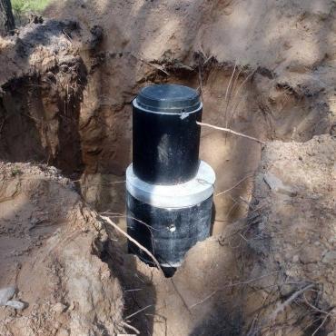 Строительство фильтрующего колодца из бетонных колец для частного дома