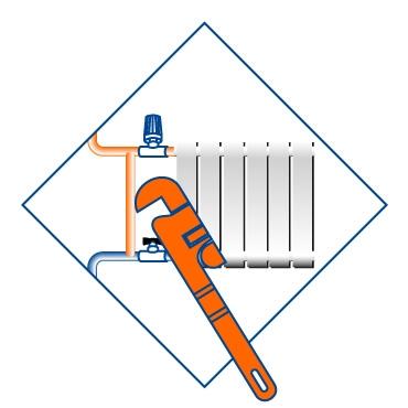 Монтаж радиаторов отопления, труб и арматуры