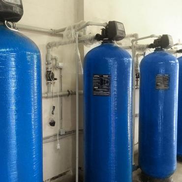 Система очистки воды поселка с технологией обратного осмоса
