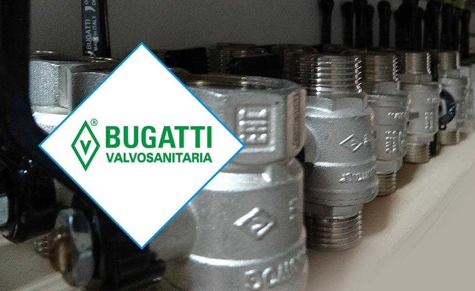 Шаровые краны BUGATTI VALVOSANITARIA – высочайшее качество без компромиссов