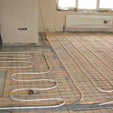 Монтаж теплого пола от газового котла в квартире таунхауса