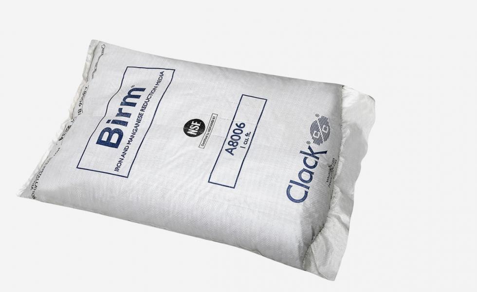 Засыпка Birm – фильтрующий материал для удаления из воды железа и марганца