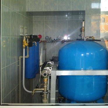 Монтаж системы водоподготовки в больнице