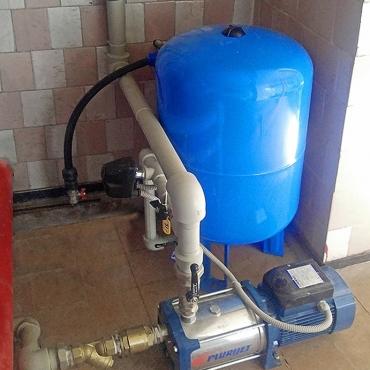 Монтаж насосного оборудования на базе отдыха