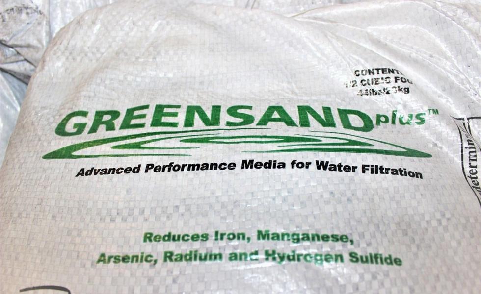 Manganese Greensand – загрузка для снижения содержания железа, марганца и сероводорода в воде