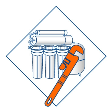 Установка фильтров для воды под мойку при центральном водоснабжении