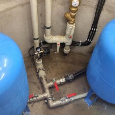 Обустройство скважины в таунхаусе для четырех квартир