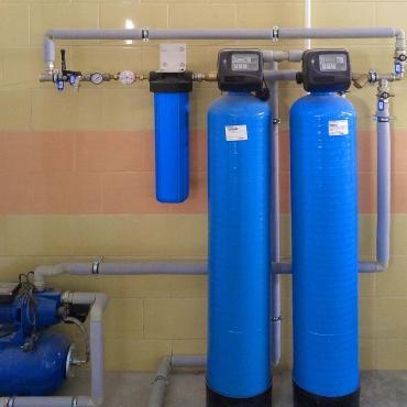 Колонны для очистки воды от железа, мутности и для умягчения воды