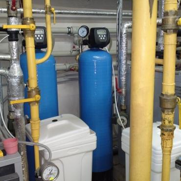 Фильтрация воды в котельной частной гостиницы