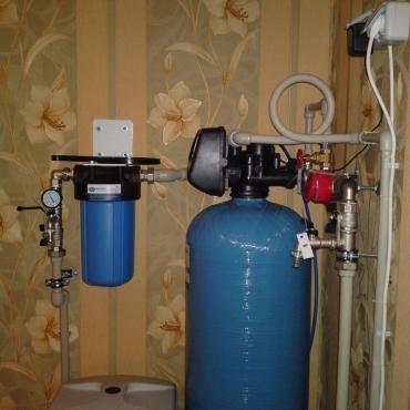 Умягчение воды в загородном доме с сезонным проживанием